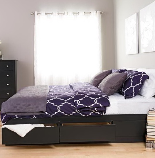 King Storage Beds With Drawers