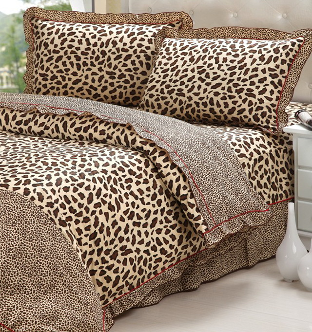 Leopard Print Bedding King Size