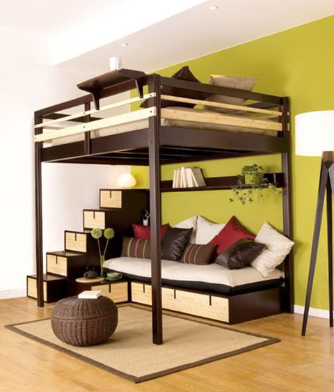 Loft Bed Plans For Adults