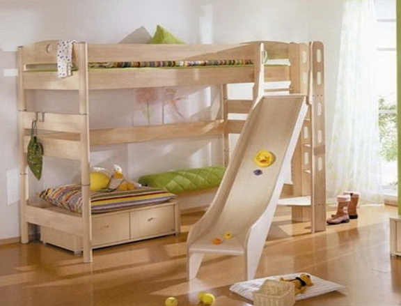 Loft Bed Plans With Slide