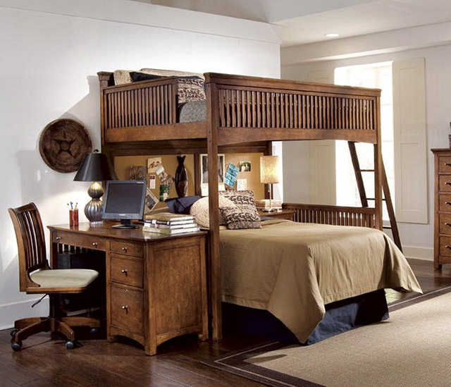 Loft Bed With Desk And Dresser