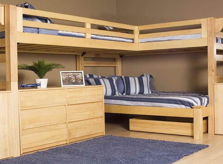 Loft Bed With Desk Plans