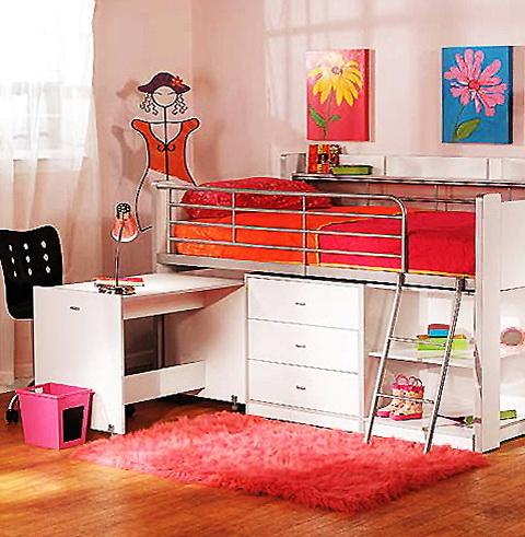 Loft Beds For Kids Walmart