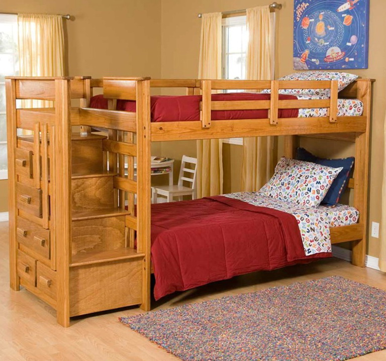 Loft Bunk Beds With Stairs