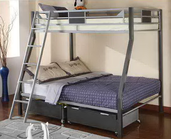 Metal Bunk Beds With Trundle