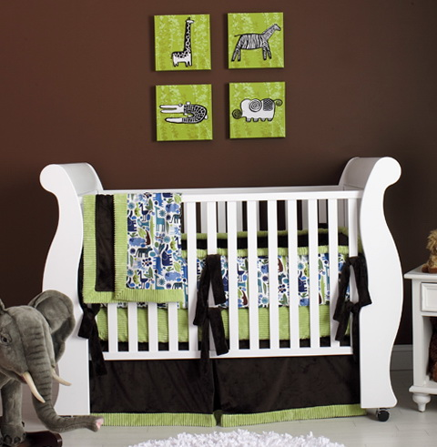 Modern Crib Bedding For Girls