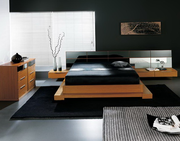 Modern Platform Bed With Storage