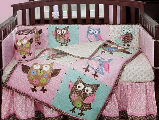 Owl Baby Bedding For Girls