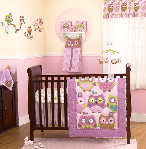 Owl Crib Bedding Walmart