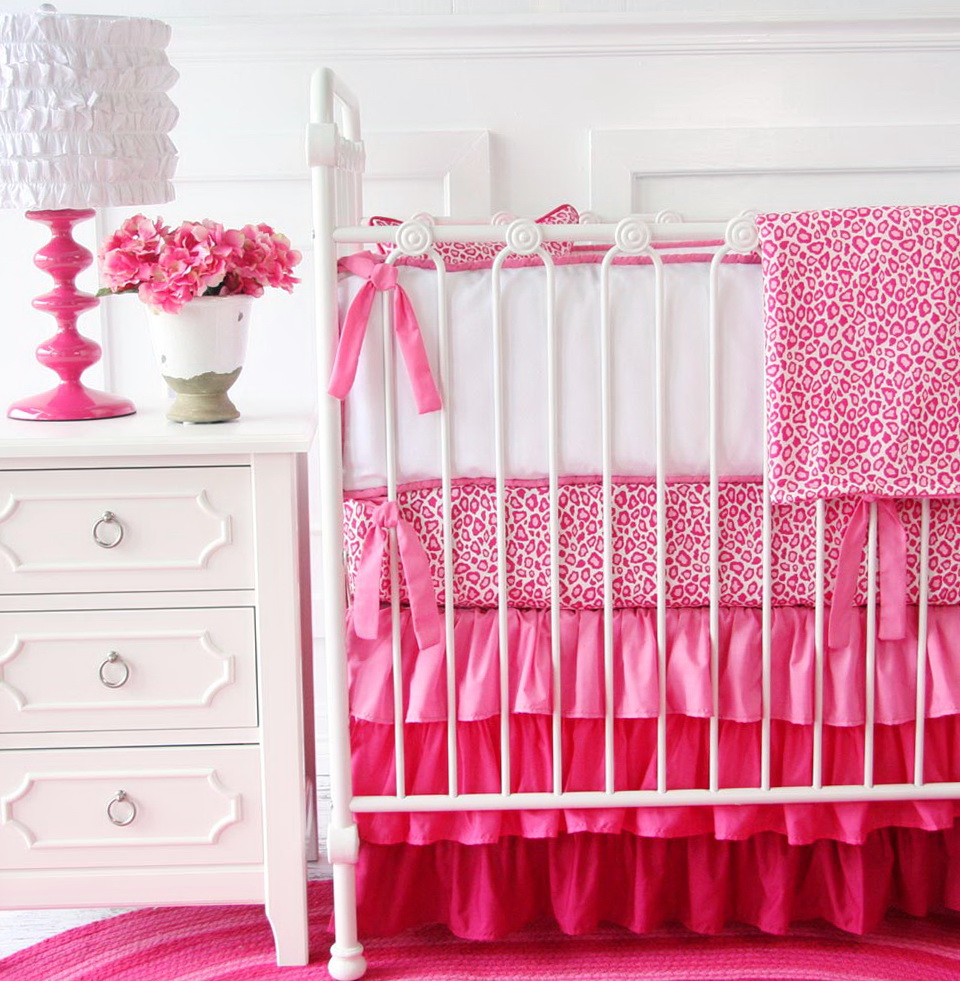 Pink Baby Bedding For Girls