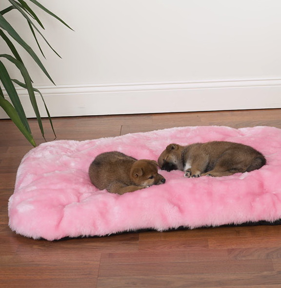 Pink Large Dog Beds