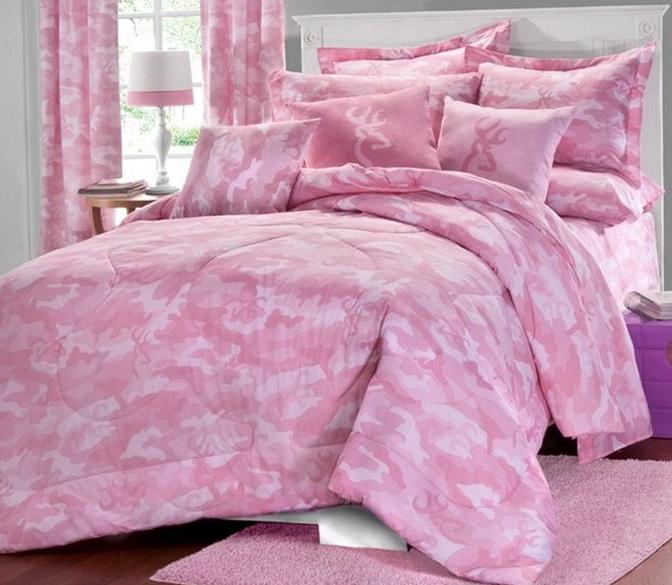 Pink Mossy Oak Bedding