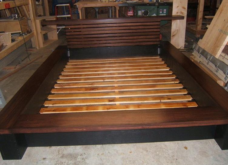 Platform Bed Plans Queen