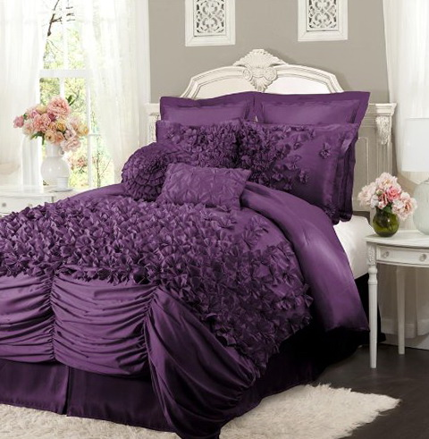 Purple Bedding Sets Queen