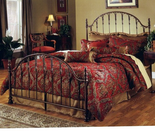 Queen Metal Bed Frame With Hooks