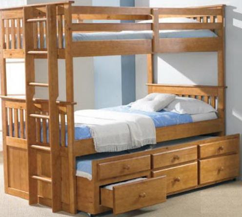 Queen Over Queen Size Bunk Beds