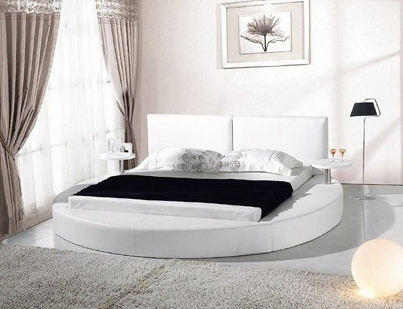 Queen Platform Bed Frame White