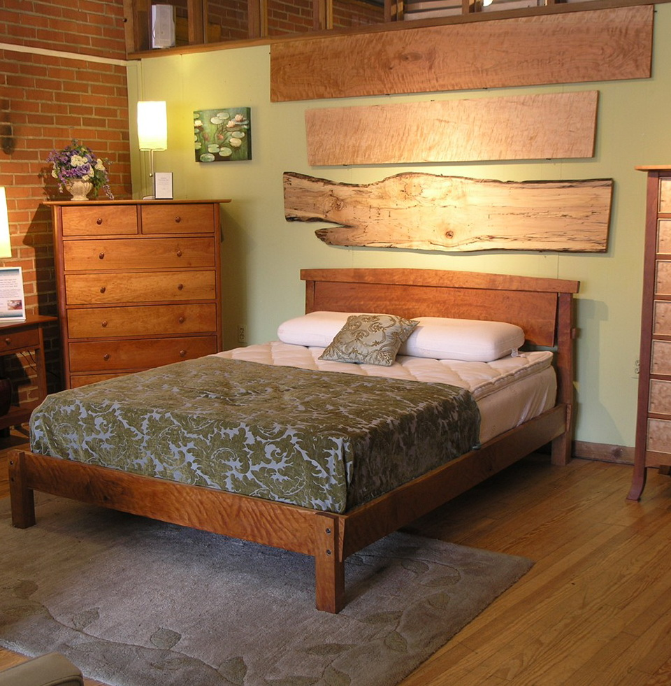 Queen Platform Bed Frame Wood