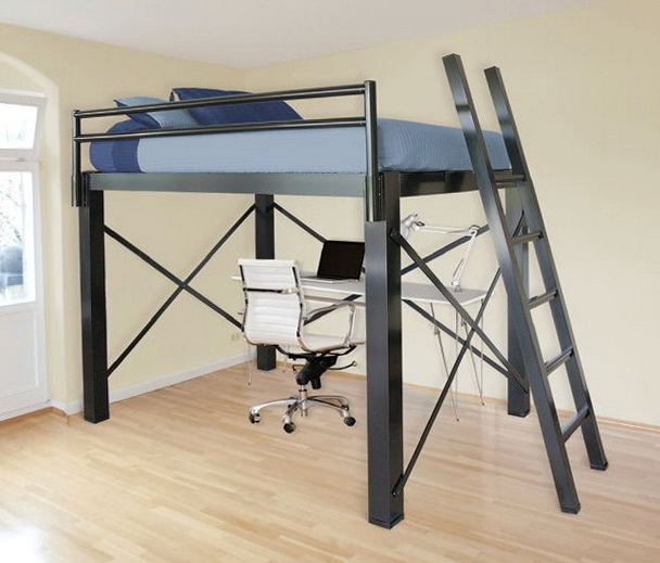 Queen Size Loft Bed For Adults