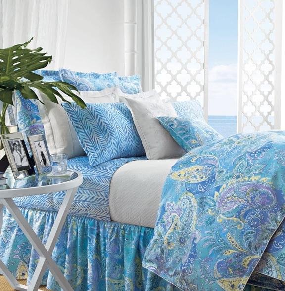 Ralph Lauren Bedding Blue