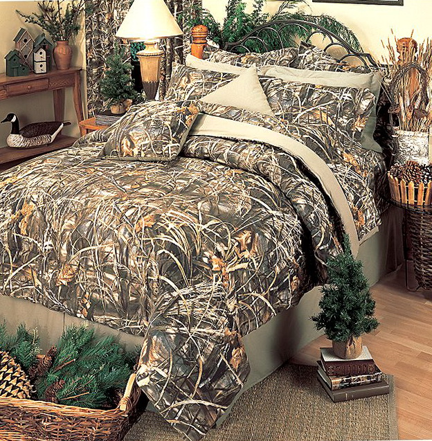 Realtree Camo Crib Bedding Set