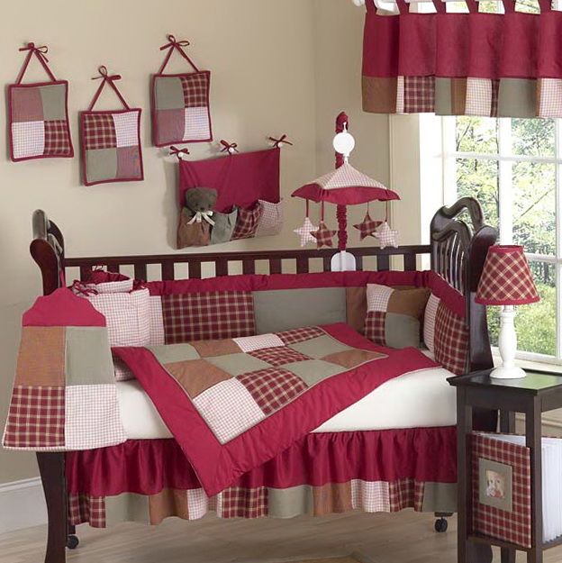 Red Baby Bedding For Boys