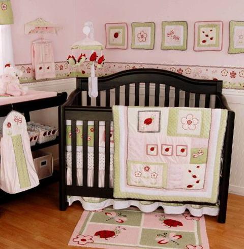 Red Baby Crib Bedding Sets