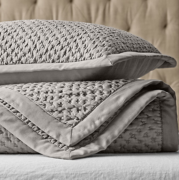 Restoration Hardware Bedding Quilts