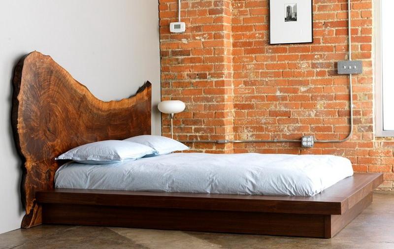 Rustic Platform Bed Frames