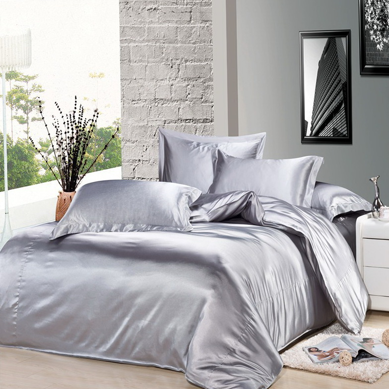 Silver Bedding Sets King
