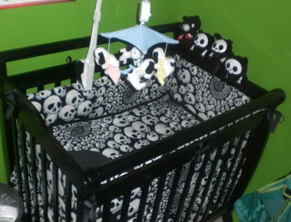 Skull Baby Bedding For Boys