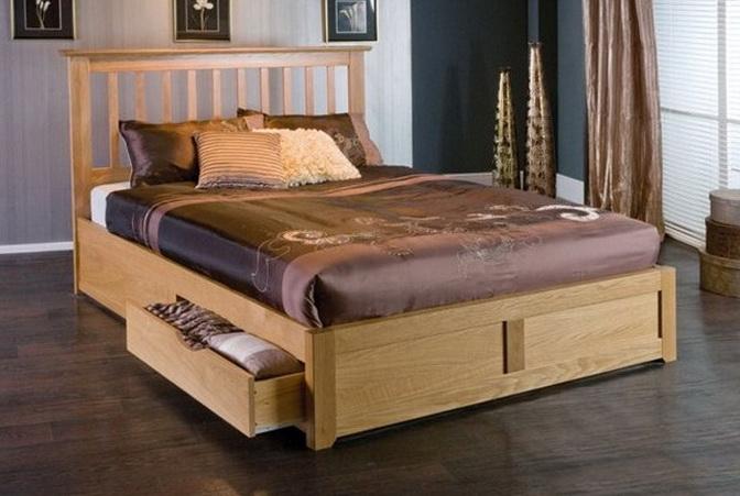 Storage Bed Frame King