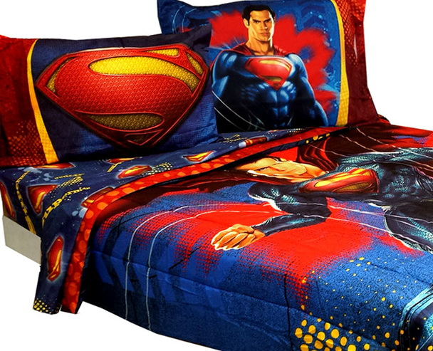 Superman Toddler Bed Sheets
