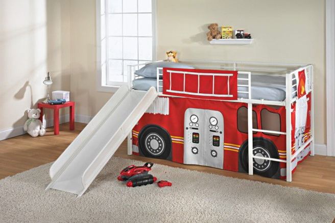 Toddler Beds For Boys With Slide
