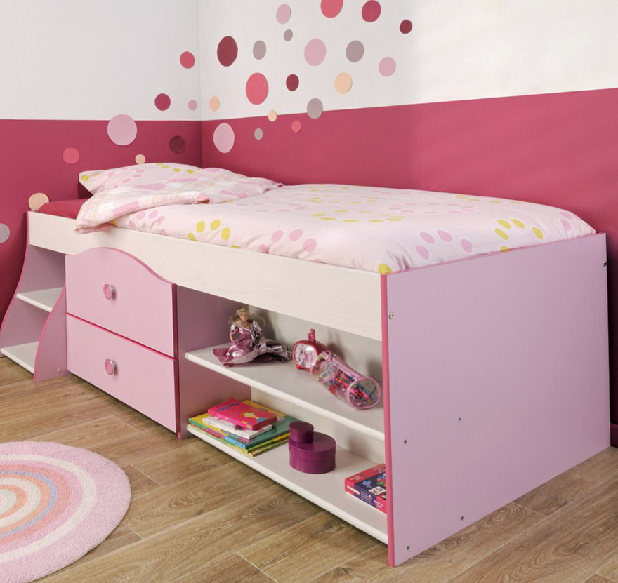 Toddler Beds For Girls With Storage