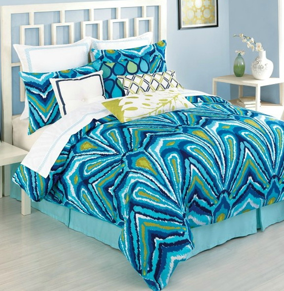 Trina Turk Bedding Turquoise
