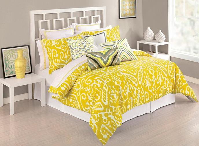 Trina Turk Bedding Yellow