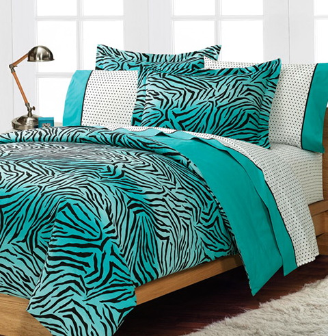 Turquoise Bed In A Bag Full