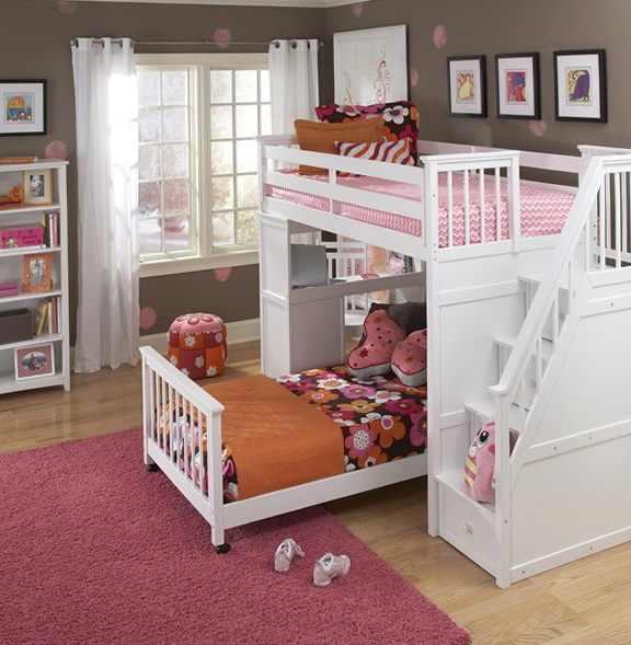 Twin And Full Size Bunk Beds