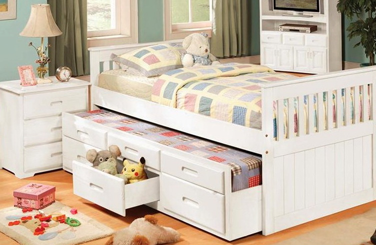 Twin Bed With Trundle Plans