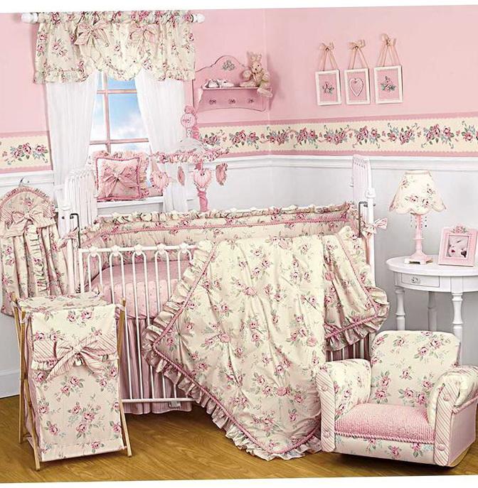Vintage Baby Bedding For Girls