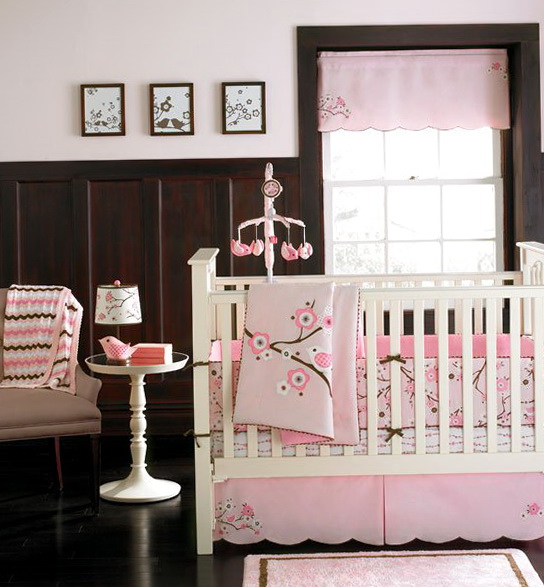 Vintage Baby Girl Nursery Bedding