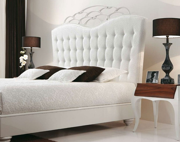 White Bed Frame Room Ideas