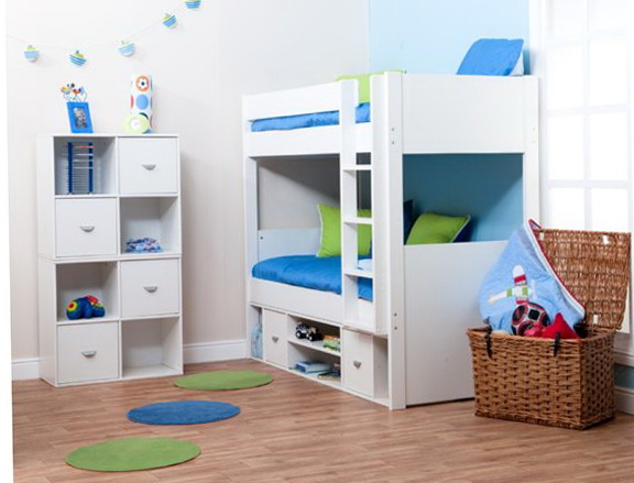 White Bunk Beds Ikea