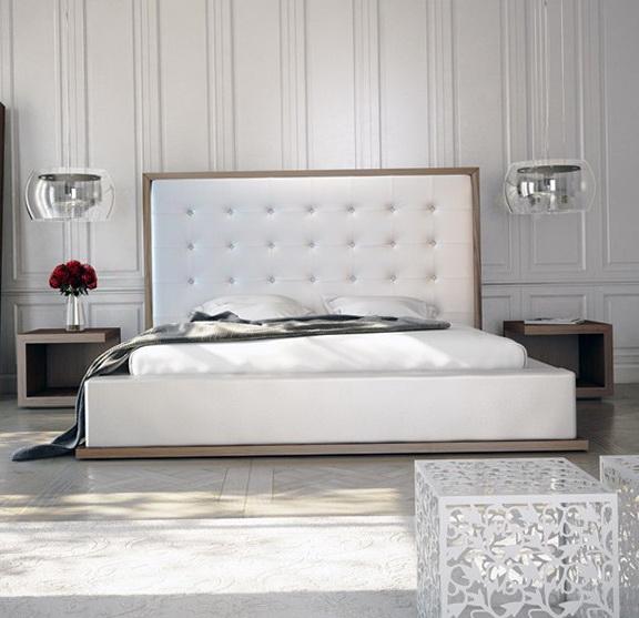 White Platform Bed Ikea