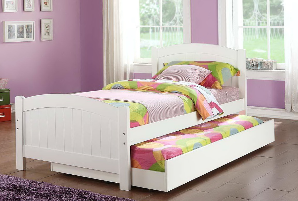 White Trundle Bed Ikea