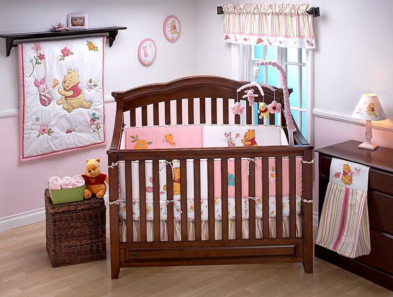 Winnie The Pooh Girl Crib Bedding