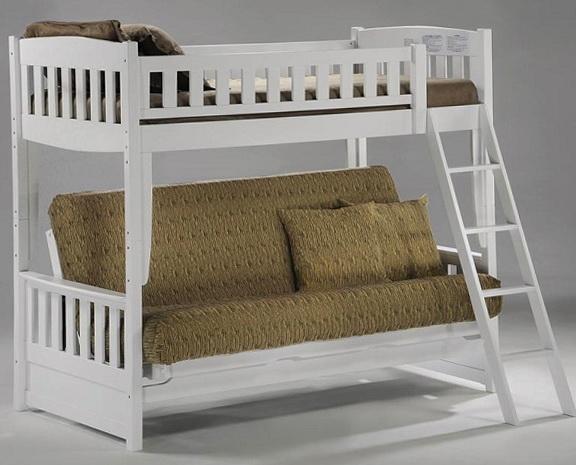 Wood Futon Bunk Beds