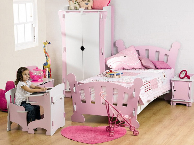 Wooden Toddler Beds For Girls