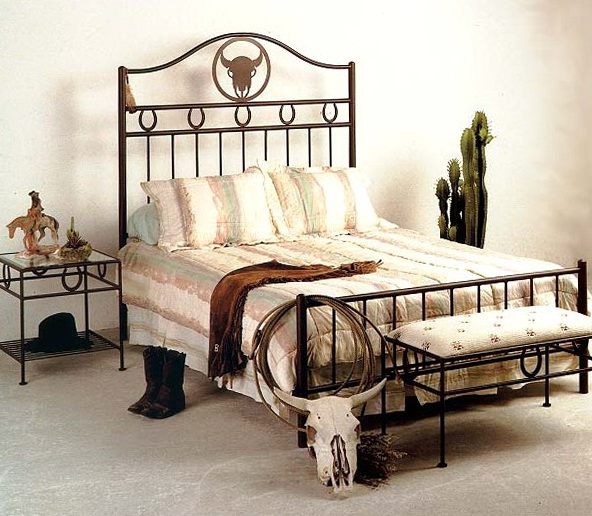 Wrought Iron Bedroom Furniture